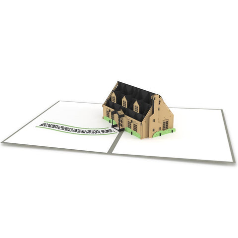 New Home Pop Up Real Estate Card greeting card -  Lovepop