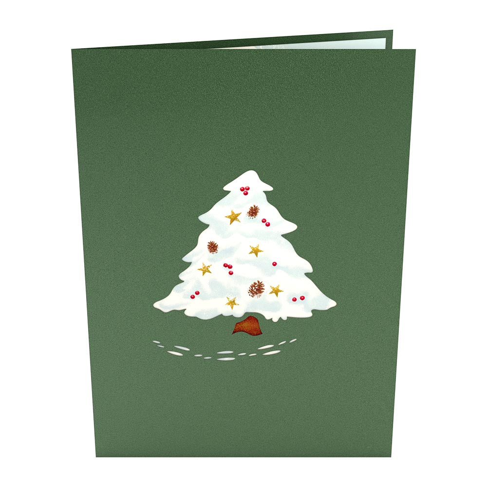 Night Before Christmas Tree pop up card