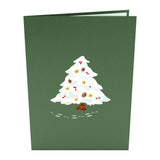 Night Before Christmas Tree pop up card - thumbnail