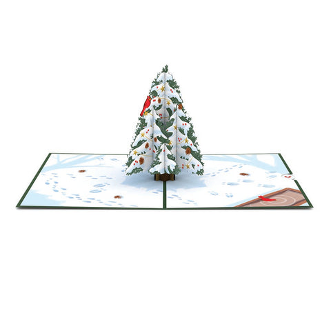Night Before Christmas Tree greeting card -  Lovepop