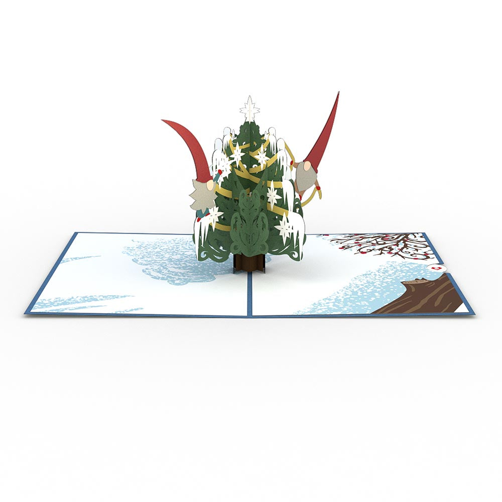 Nordic Christmas Tree             pop up card