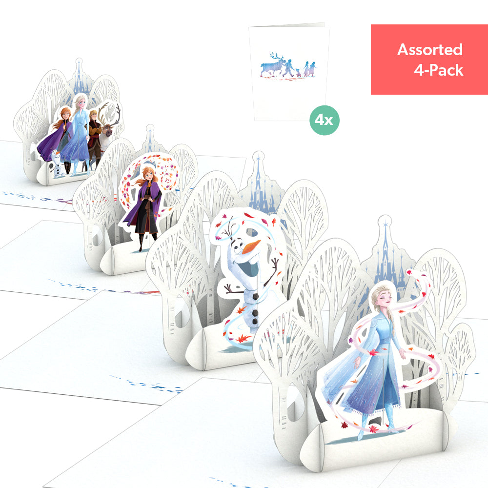 Disney Frozen 2 Notecards (Assorted 4-Pack)             pop up card