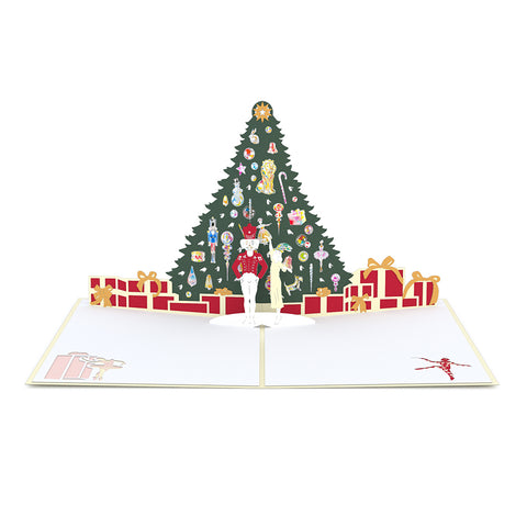 The Nutcracker Pop up Card greeting card -  Lovepop