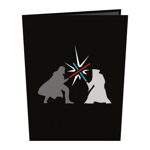 Star Wars Obi-Wan vs. Darth Vader Pop up Card