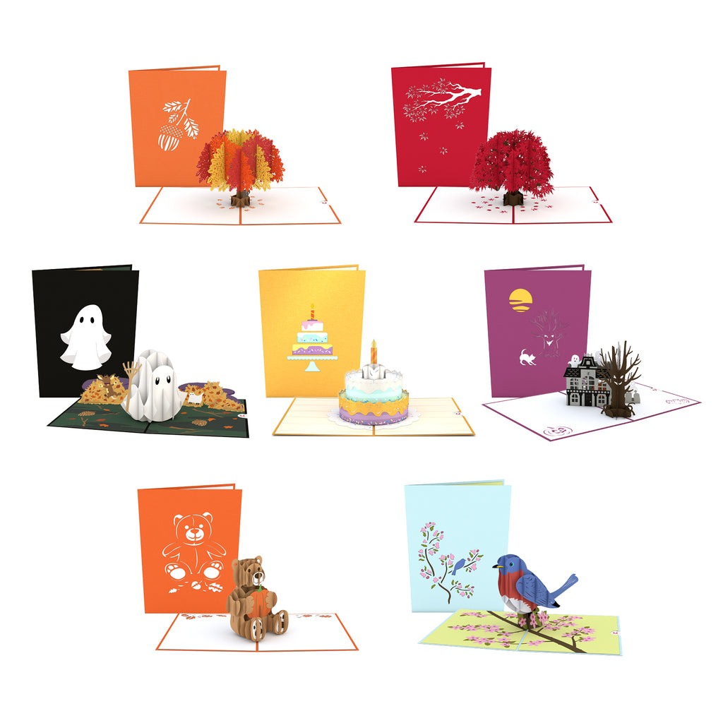 LIMITED EDITION October 2018 Pack birthday pop up card