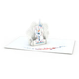 Notecard 4-Pack: Disney Frozen 2 pop up card - thumbnail