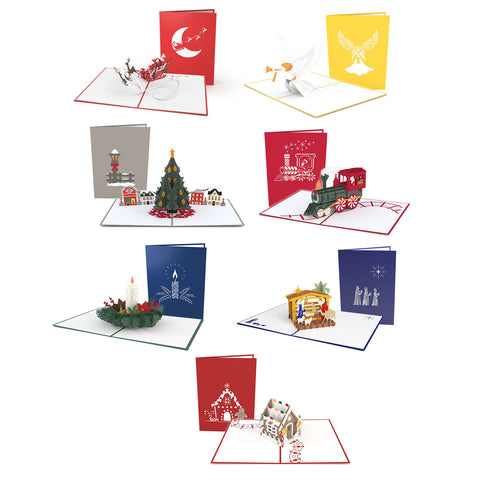 Christmas Favorites 7 Pack greeting card -  Lovepop