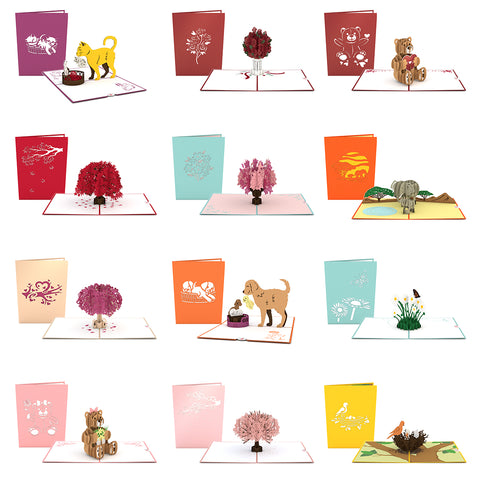 Mother's Day Favorites 12 Pack greeting card -  Lovepop
