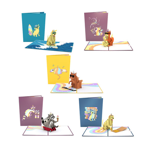 Life of the Party Pack greeting card -  Lovepop