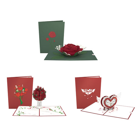 Valentine's Classics Pack greeting card -  Lovepop