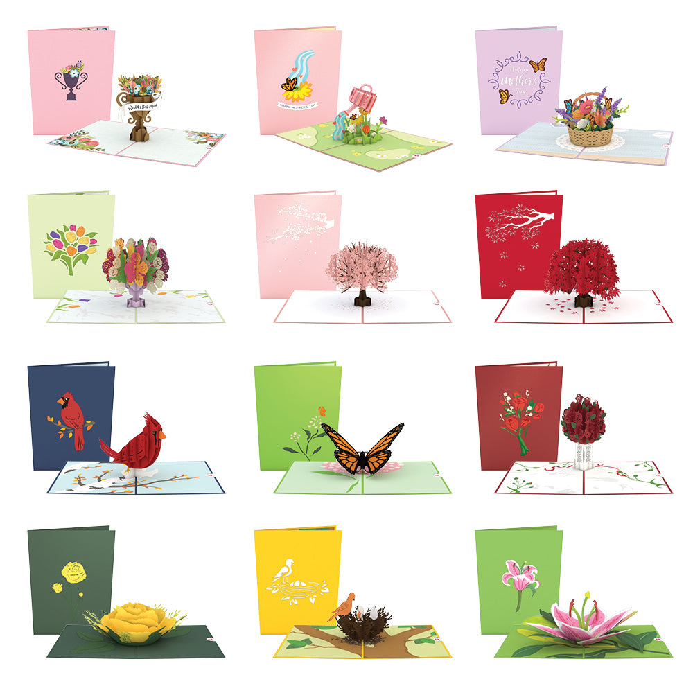 Mother's Day Favorites 12 Pack pop up card