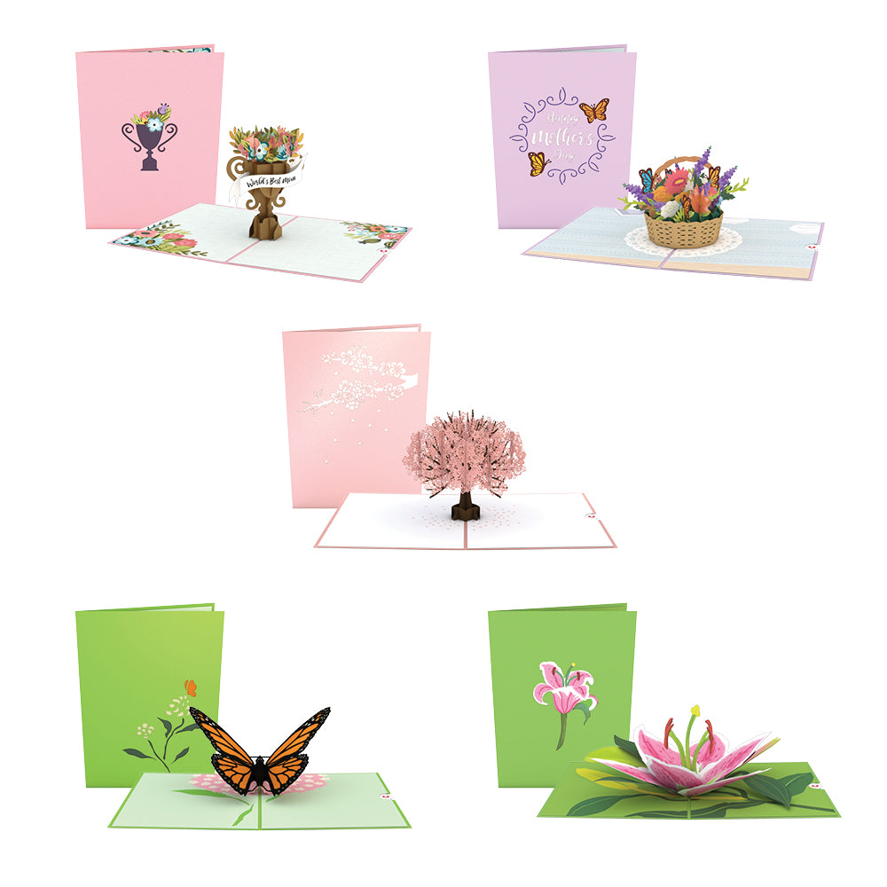 Mother's Day Favorites 5 Pack pop up card