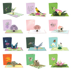 Mother's Day Nature 12 Pack greeting card -  Lovepop
