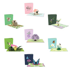 Mother's Day Nature 7 Pack greeting card -  Lovepop