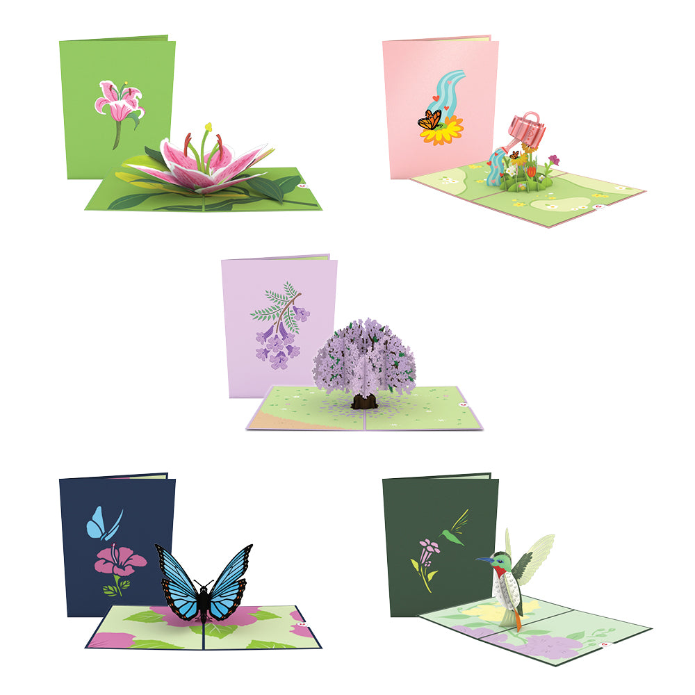 Garden 5-Pack             pop up card