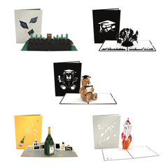 Graduation 5 Pack greeting card -  Lovepop