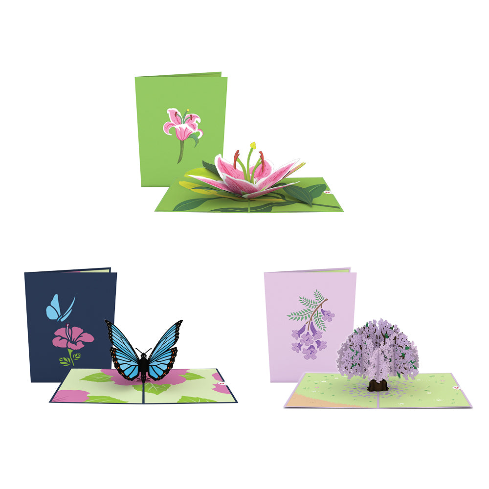 Mother's Day Classics 3 Pack pop up card