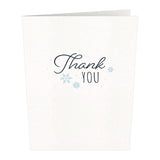 Notecard 24 Set: Holiday Thank You                                   pop up card - thumbnail