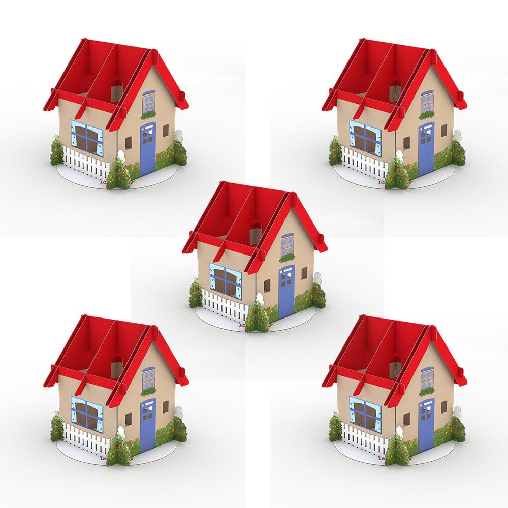 Stickerpop™: House (5 Pack)             pop up card