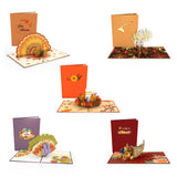 Thanksgiving 5-Pack                                   pop up card - thumbnail