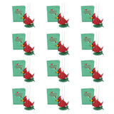 Holiday Cardinal Card with Ornament (12-Pack)                                   pop up card - thumbnail