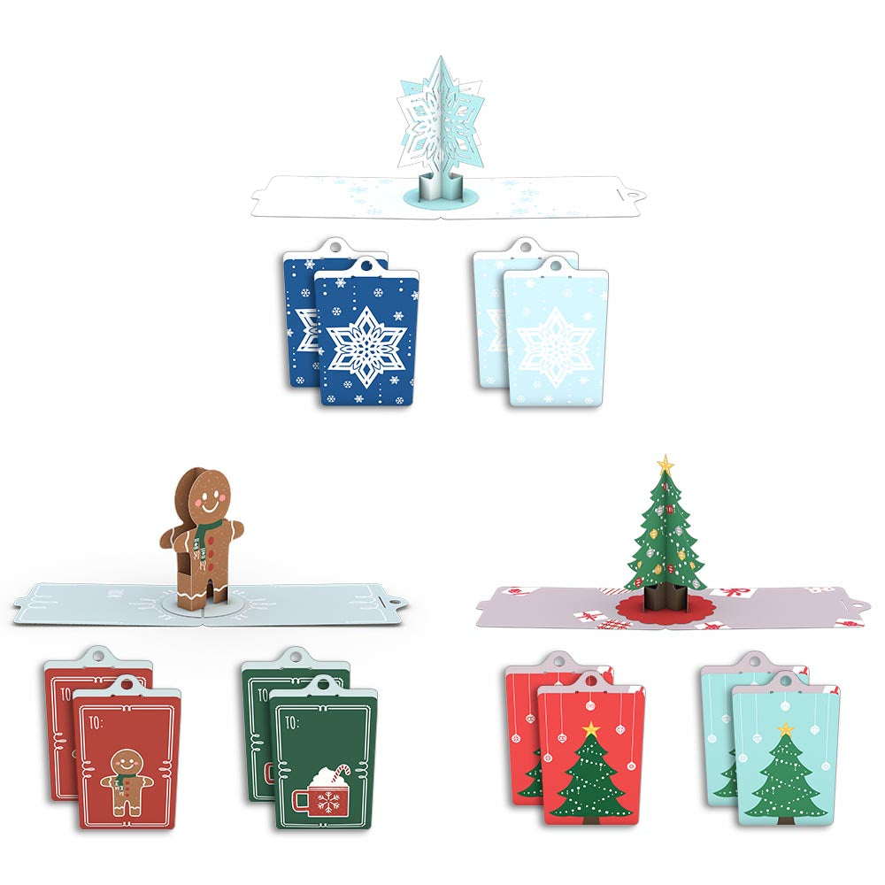 Holiday Gift Tags (Assorted 12-Pack)             pop up card