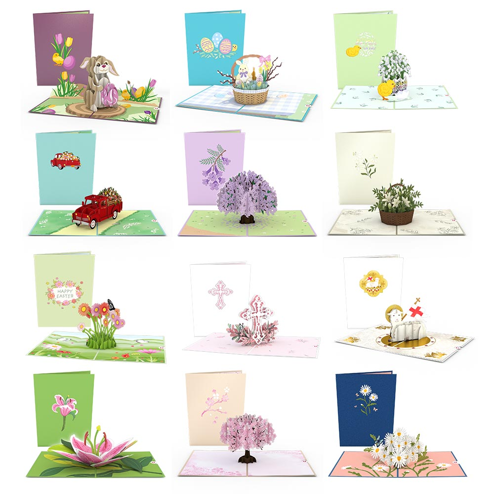 Easter 12-Pack             pop up card