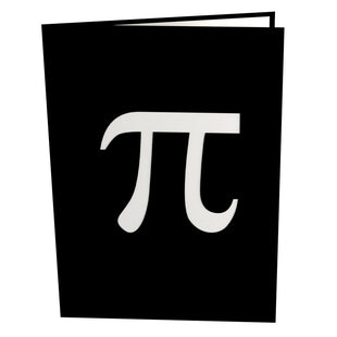Pi Day Pop Up Greeting Card