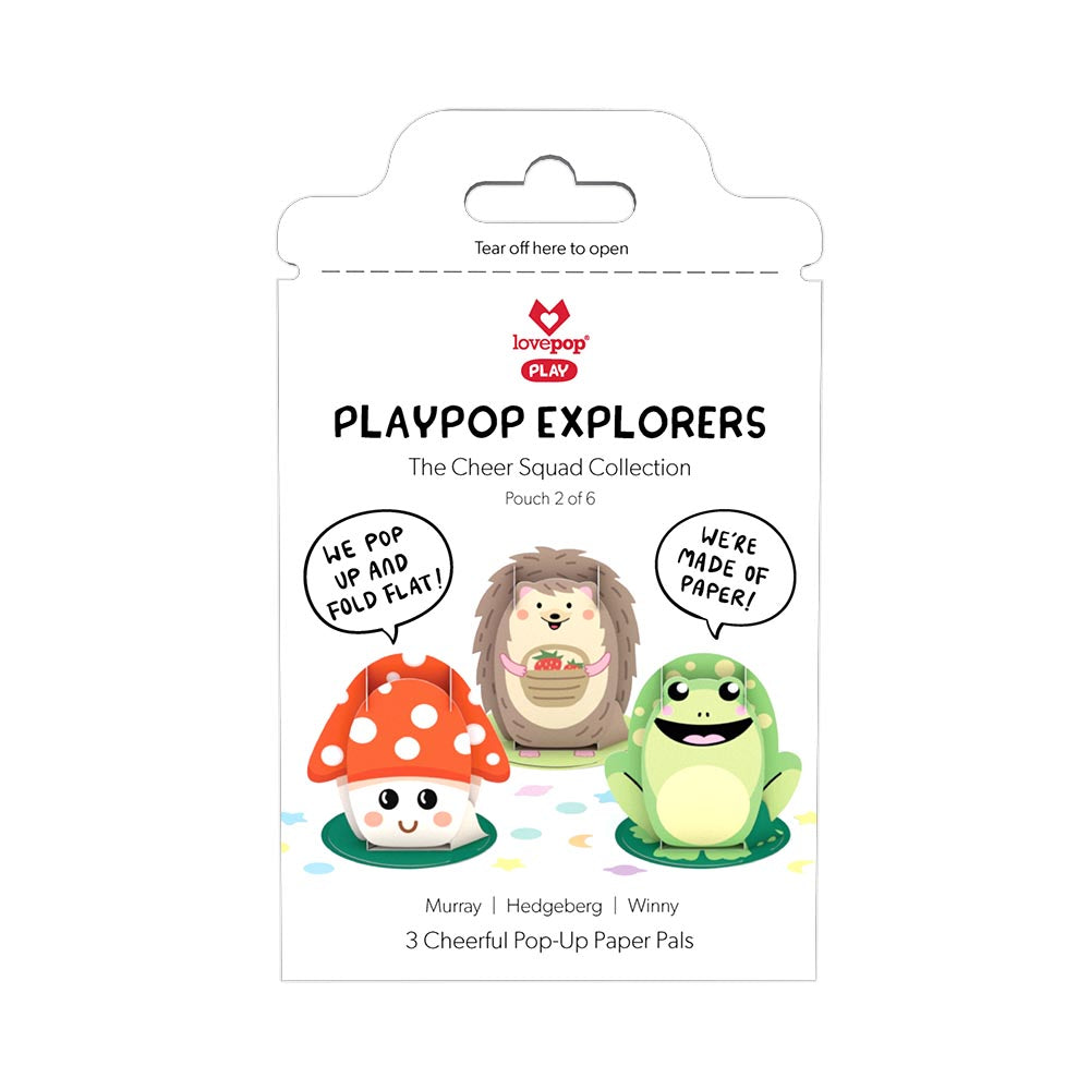 Playpop Explorers™: The Cheer Squad (2 of 6)             pop up card