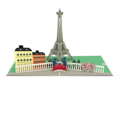 Paris Love Scene Pop-up Valentine's Day Card greeting card -  Lovepop