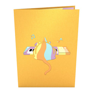 Party Cat Pop up Card
