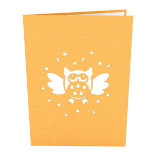 Party Owl Pop up Card