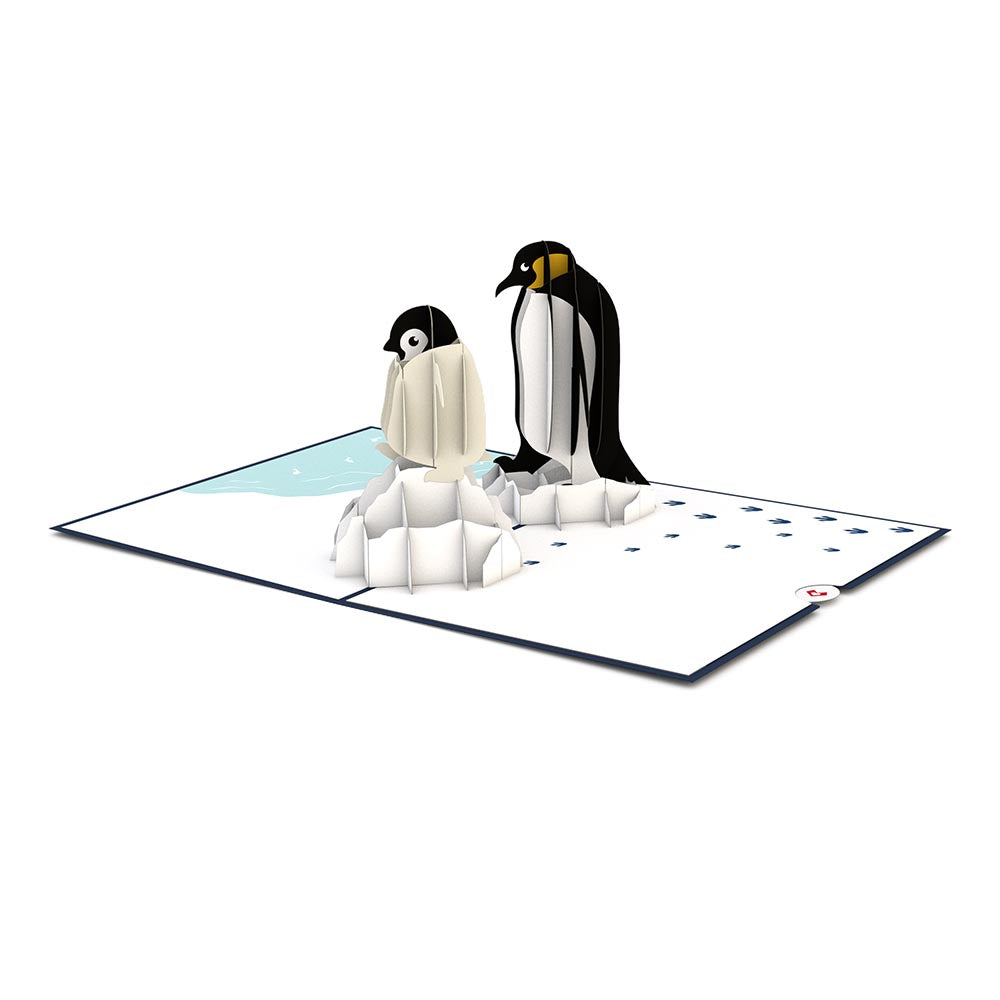 Penguin Family             pop up card