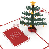 Photo Christmas Tree pop up card - thumbnail
