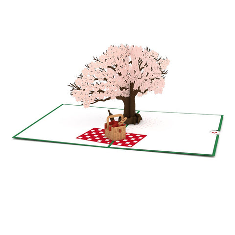 Springtime Picnic Pop Up Greeting Card greeting card -  Lovepop