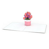 Flower Pot Notecards (Assorted 4 Pack)                                   pop up card - thumbnail