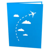 Airplane pop up card - thumbnail