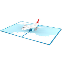 Airplane Pop up Card greeting card -  Lovepop