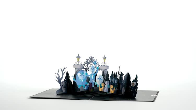 Disney The Haunted Mansion Pop-Up Card