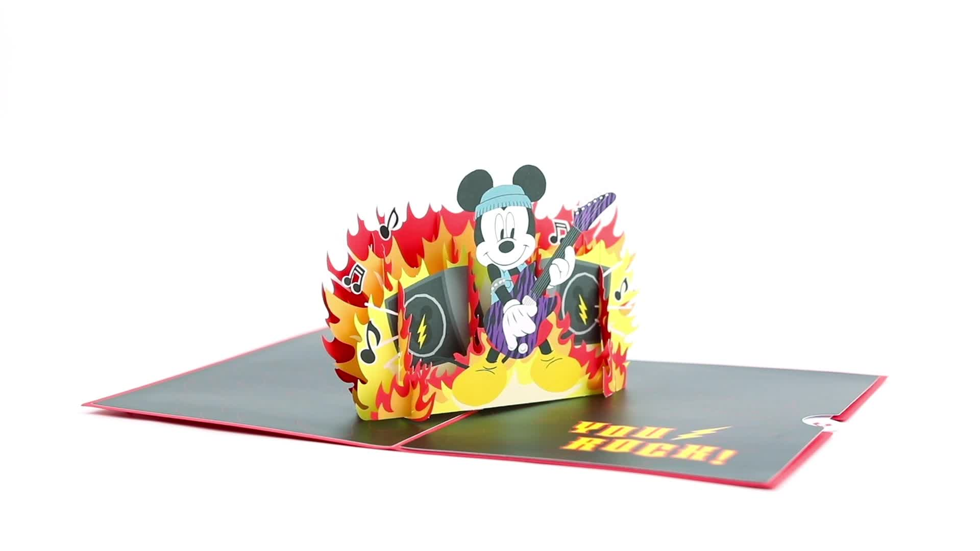 Disney's Mickey Mouse You Rock! Pop-Up Card