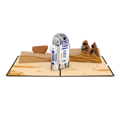R2-D2™ and Jawas™  greeting card -  Lovepop