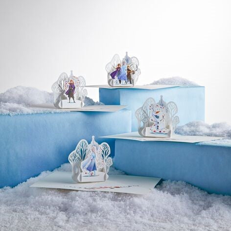 Notecard 4-Pack: Disney Frozen 2 pop up card