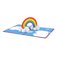 Rainbow greeting card -  Lovepop