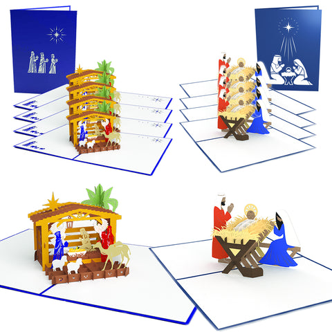 The Reason for the Season Pop-up Christmas Card 10 Pack greeting card -  Lovepop