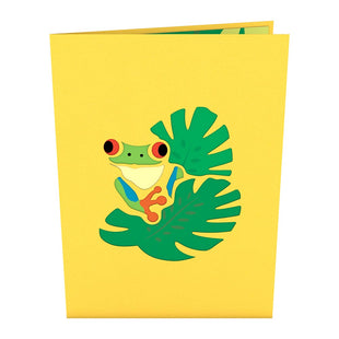 Red-Eyed Tree Frog Pop up Card