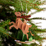 Reindeer Ornament                                   pop up card - thumbnail