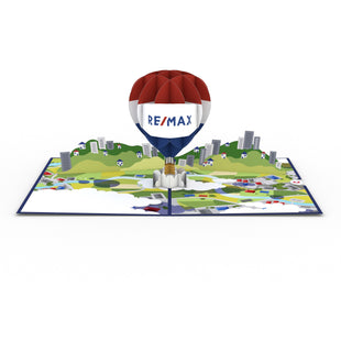 RE/MAX® Balloon greeting card -  Lovepop