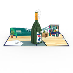 RE/MAX® New Home Champagne greeting card -  Lovepop