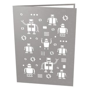 Robot Dad Pop Up Father's Day Card