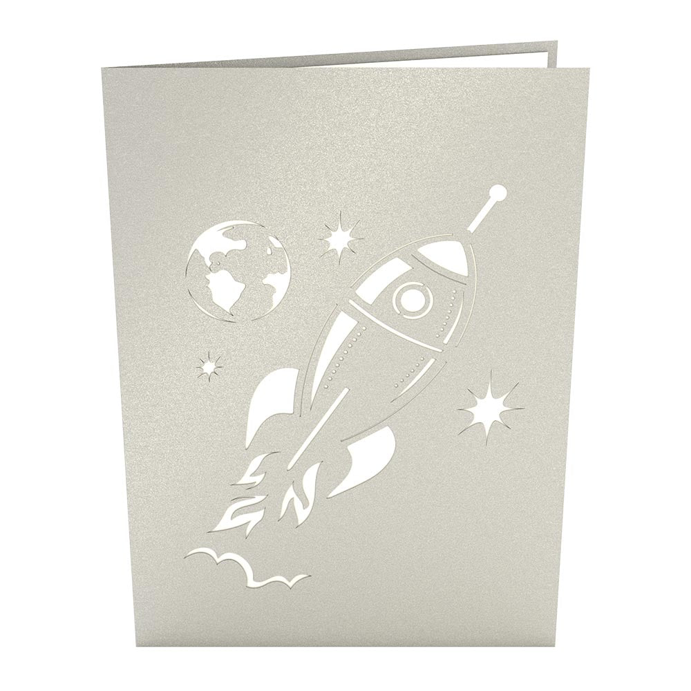 Rocket Ship             pop up card